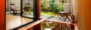 木のお風呂のイメージ